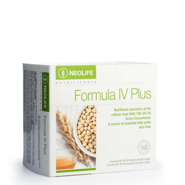 Formula IV Plus (60 doze) Uleiuri vegetale cu multivitamine si minerale