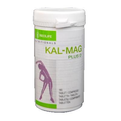 Kal Mag Plus D (180 tablete) Supliment cu calciu, magneziu si vitamina D3