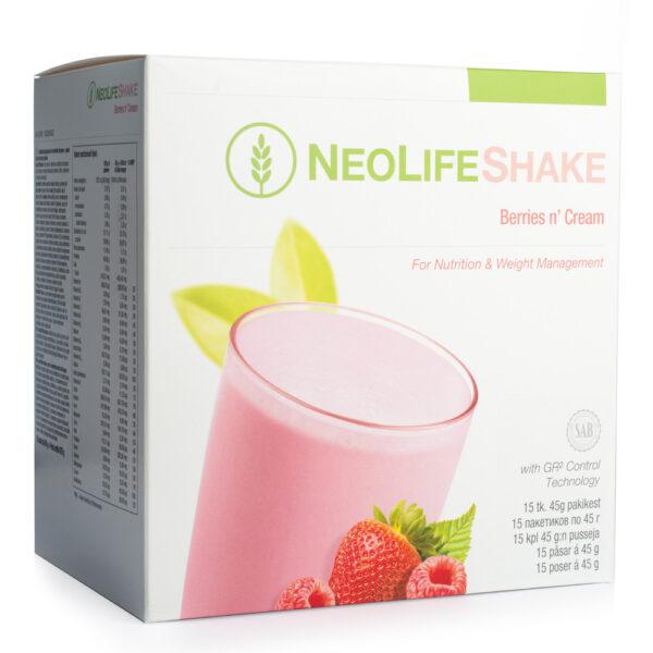 NeoLife shake berries (15 plicuri) Inlocuitor al unei gustari - fructe de padure