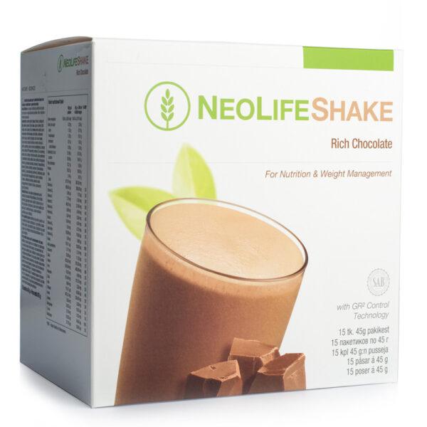NeoLife shake chocolate (15 plicuri) Inlocuitor al unei gustari - aroma de ciocolata