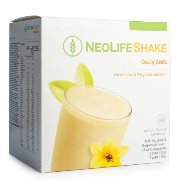 NeoLife shake vanilia (15 plicuri) Inlocuitor al unei gustari - aroma de vanilie