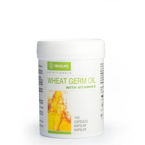 Wheat Germ Oil cu Vitamina E (100 capsule) Ulei din germeni de grau - Sanatatea Noastra Azi