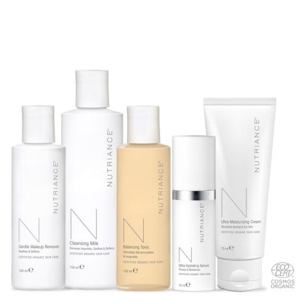 Nutriance Organic - Tratament anti-imbatranire piele normala si uscata
